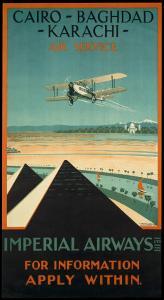 Imperial Airways travel, c.1924