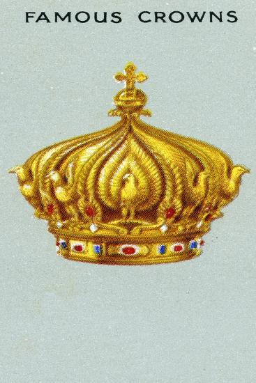Imperial Crown of Emperor Napoleon Iii, 1938--Giclee Print