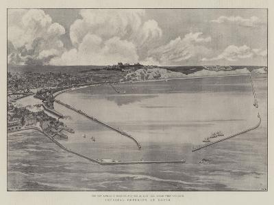 Imperial Defences at Dover--Giclee Print