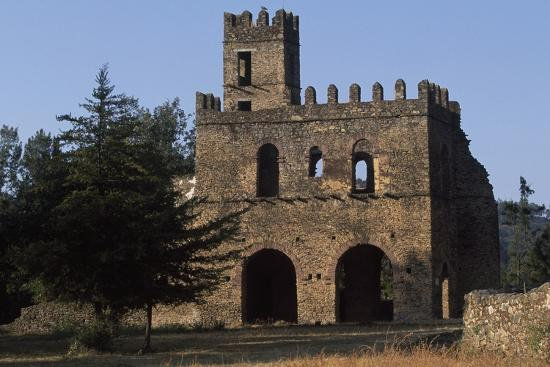 Imperial Enclosure and Gate of Yohannes I, Gondar--Photographic Print
