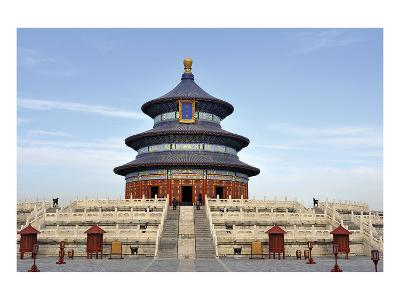 Imperial Heaven Vault Beijing--Art Print