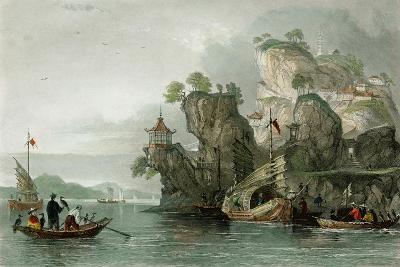 Imperial Palace Tseaou Shan-Thomas Allom-Art Print