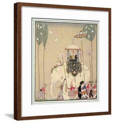 Imperial Procession-Georges Barbier-Framed Giclee Print