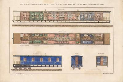Imperial Saloon Carriage, Nikolayevsky Railway, 1868--Giclee Print