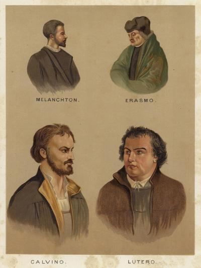 Important Personalities of the Christian Reformation--Giclee Print