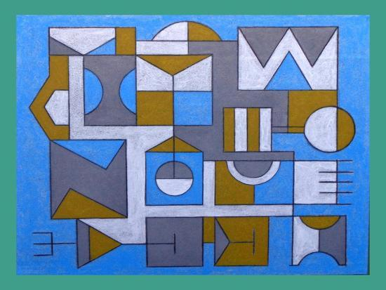 IMPOSSIBLE BUILDING. 2017-Peter McClure-Giclee Print