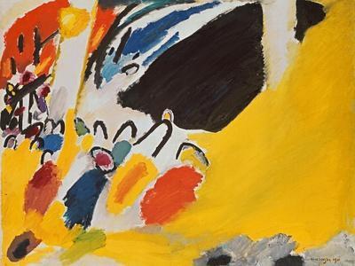 Impression III (Konzert), 1911-Wassily Kandinsky-Framed Giclee Print