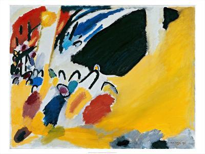 Impression lll (1911)-Wassily Kandinsky-Art Print