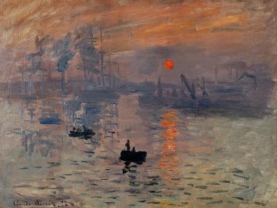 Impression, Soleil Levant-Claude Monet-Giclee Print