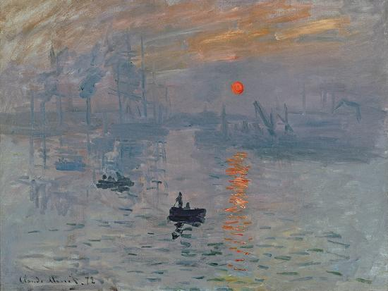 Impression: Sunrise, 1872-Claude Monet-Giclee Print