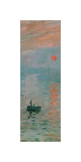 Impression, Sunrise, c. 1872 (detail)-Claude Monet-Giclee Print