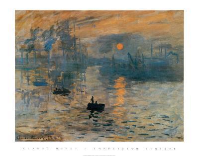 Impression, Sunrise, c.1872-Claude Monet-Art Print