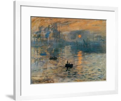Sunrise Impression By French Canvas Wall Art Print 1872 Home Decor