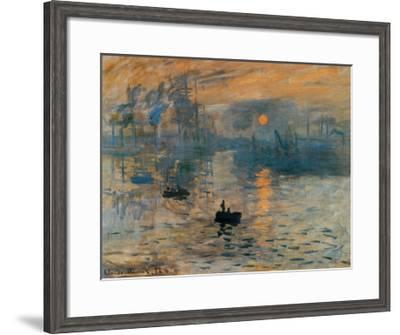 Impression Sunrise C 1872 Art Print Claude Monet Art Com