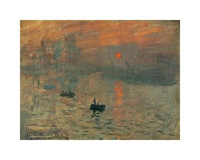 Impression, Sunrise, c.1872-Claude Monet-Giclee Print