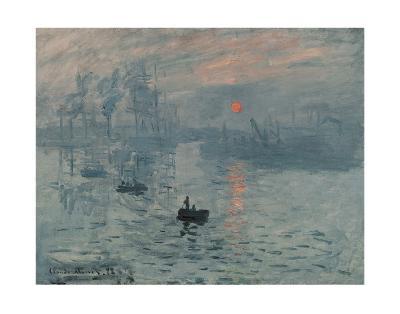 Impression, Sunrise-Claude Monet-Art Print