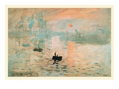 Impression Sunrise-Claude Monet-Art Print