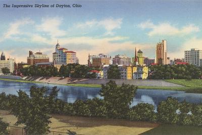 Impressive Skyline, Dayton--Art Print