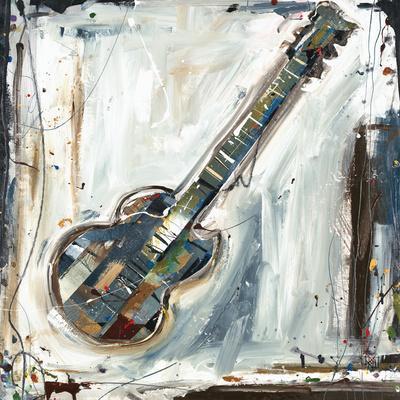 Imprint Guitar-Kelsey Hochstatter-Art Print