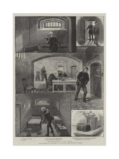 Imprisonment for Debt--Giclee Print