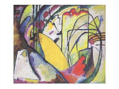 Improvisation 10-Wassily Kandinsky-Collectable Print