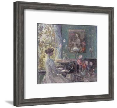 Improvisation, 1899-Childe Hassam-Framed Art Print