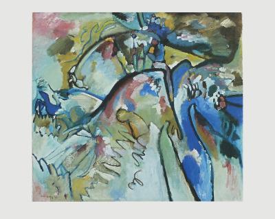 Improvisation 21 A , 1911-Wassily Kandinsky-Collectable Print