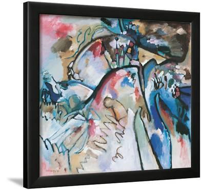Improvisation 21 A, 1911-Wassily Kandinsky-Framed Giclee Print