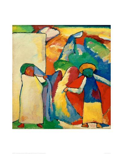 Improvisation 6, 1909-Wassily Kandinsky-Giclee Print