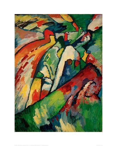 Improvisation 7 (Storm), 1910-Wassily Kandinsky-Giclee Print