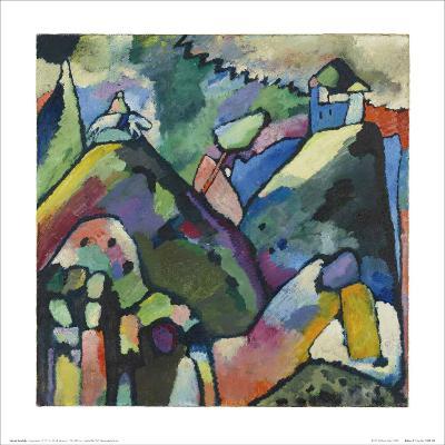 Improvisation 9, 1910-Wassily Kandinsky-Art Print
