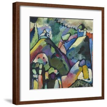 Improvisation 9, 1910-Wassily Kandinsky-Framed Art Print