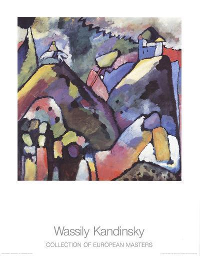 Improvisation 9-Wassily Kandinsky-Collectable Print