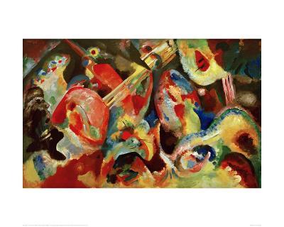 Improvisation Deluge, 1913-Wassily Kandinsky-Giclee Print
