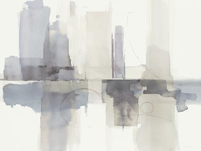 Improvisation II Gray Crop-Mike Schick-Art Print