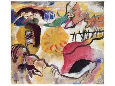 Improvisation No. 27 (The Garden of Love), c.1912-Wassily Kandinsky-Premium Giclee Print