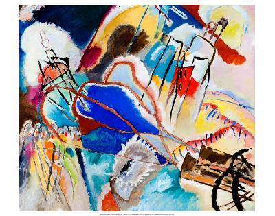 Improvisation No. 30 - Cannons (1913)-Wassily Kandinsky-Art Print