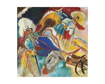 Improvisation No. 30 (Cannons), 1913-Wassily Kandinsky-Giclee Print