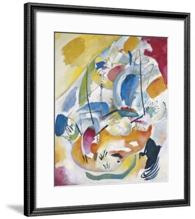Improvisation no. 31, Sea Battle, c.1913-Wassily Kandinsky-Framed Art Print