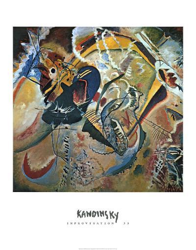 Improvisation No. 35-Wassily Kandinsky-Art Print