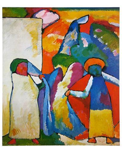 Improvisation No. 6-Wassily Kandinsky-Art Print