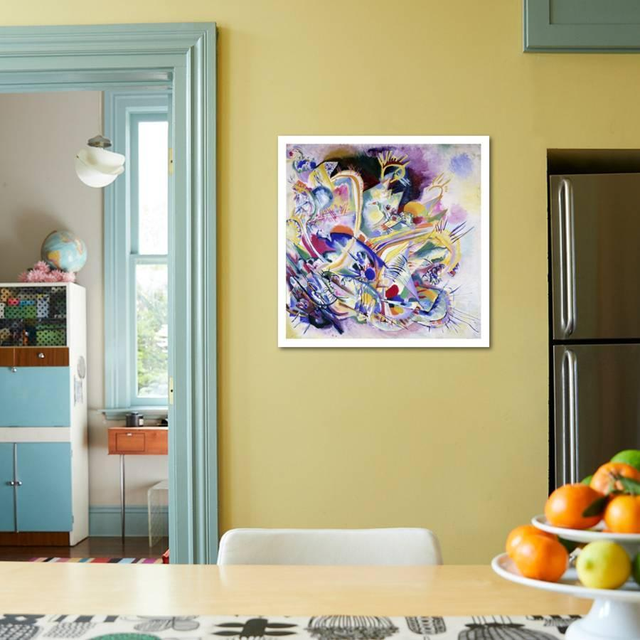 Improvisation Painting Art Print by Wassily Kandinsky | Art.com