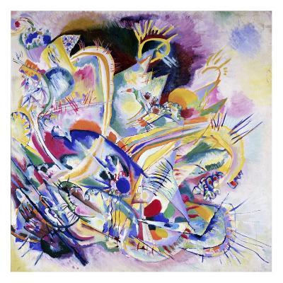 Improvisation Painting-Wassily Kandinsky-Art Print