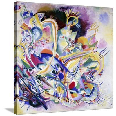 Improvisation Painting-Wassily Kandinsky-Stretched Canvas Print