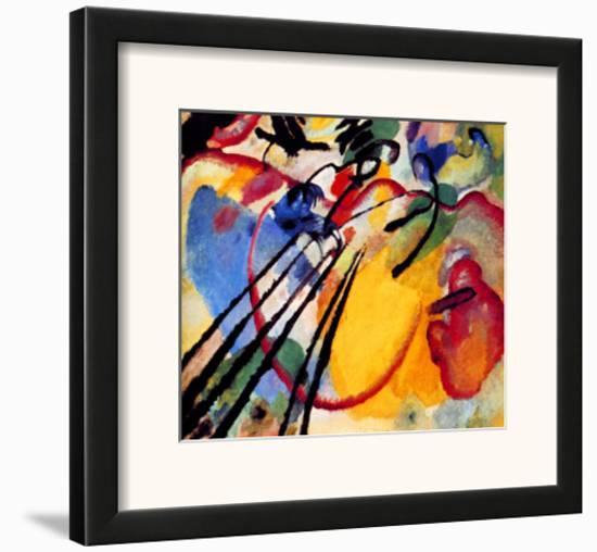 Improvisation-Wassily Kandinsky-Framed Giclee Print