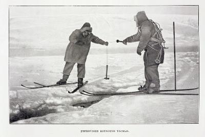 Improvised Sounding Tackle-Roald Amundsen-Giclee Print