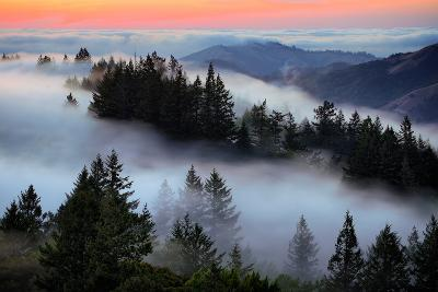 In A Dream of Fog Mount Tamalpais San Francisco-Vincent James-Photographic Print