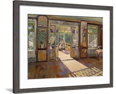 In a House-Sergei Arsenyevich Vinogradov-Framed Giclee Print