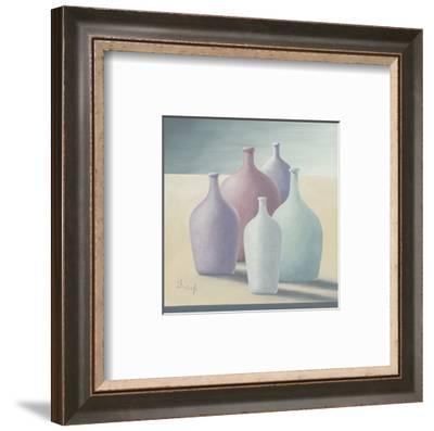 In a Row I-Franz Heigl-Framed Art Print