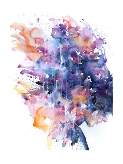 In A Single Moment All Her Greatness Collapsed-Agnes Cecile-Art Print